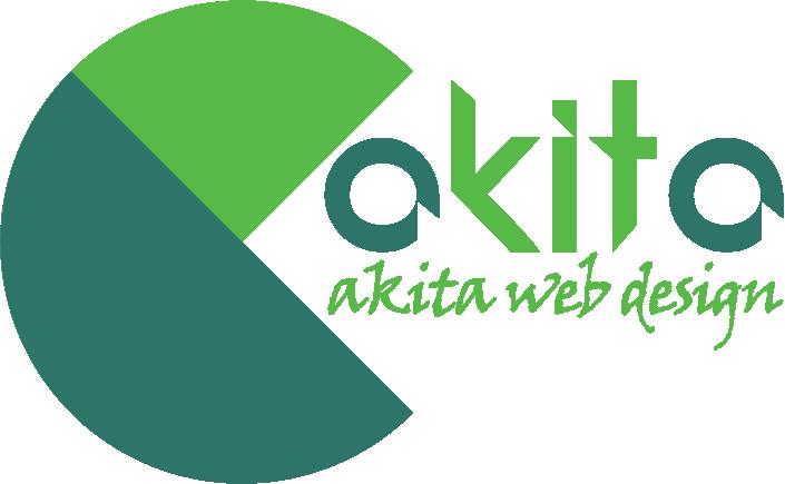 akitaweb design logo